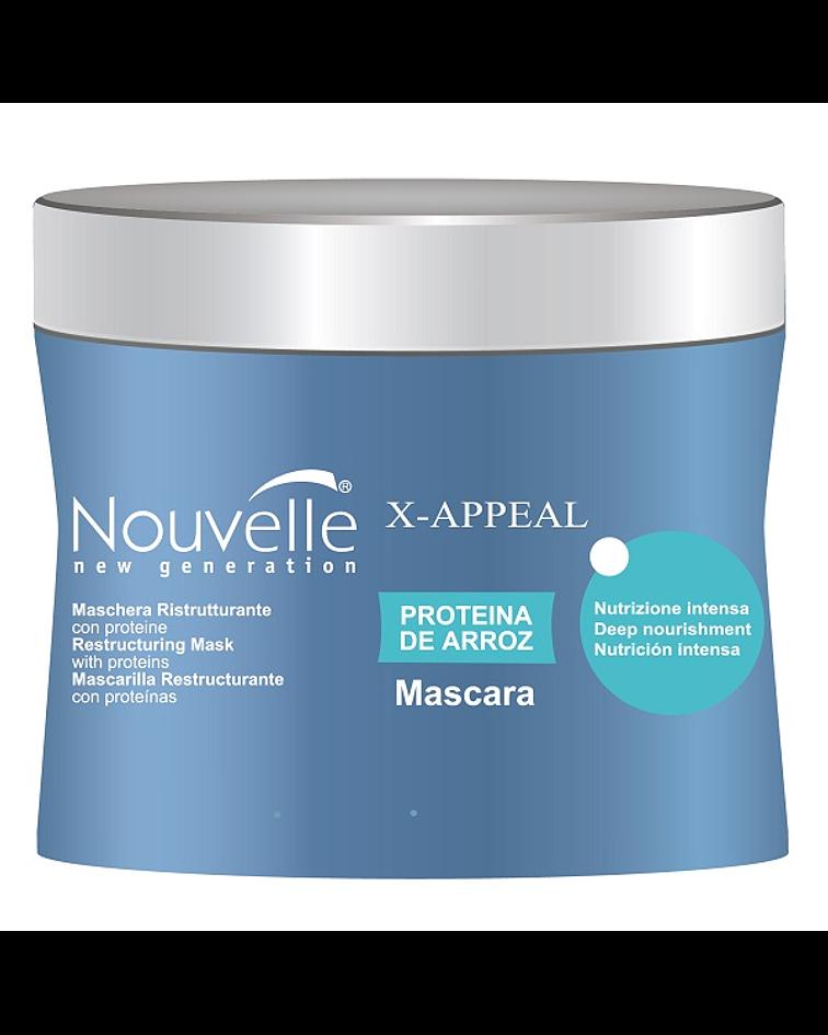 Mascarilla Proteína de Arroz NOUVELLE X-Appeal Tarro