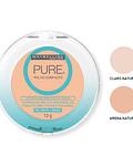 Polvo Compacto Anti-Imperfecciones & Anti-brillo MAYBELLINE Pure