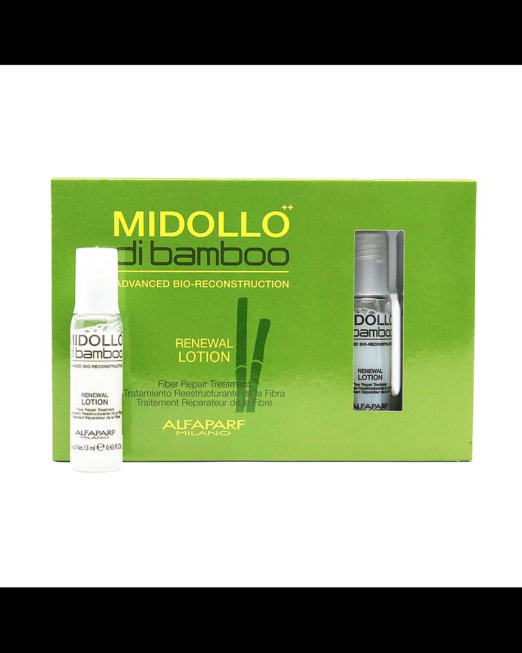 Ampolletas ALFAPARF MILANO Midollo di Bamboo Renwal Lotion 12 X 13ml