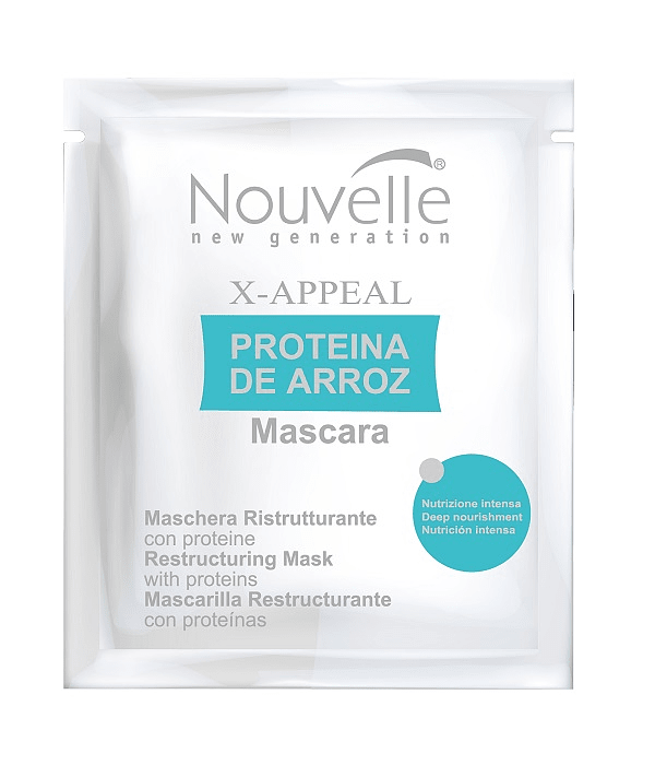 Mascarilla Proteína de Arroz NOUVELLE X-Appeal Schet