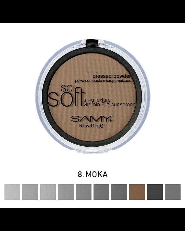 Polvo Compacto Micropulverizado con Espejo SAMY 11g