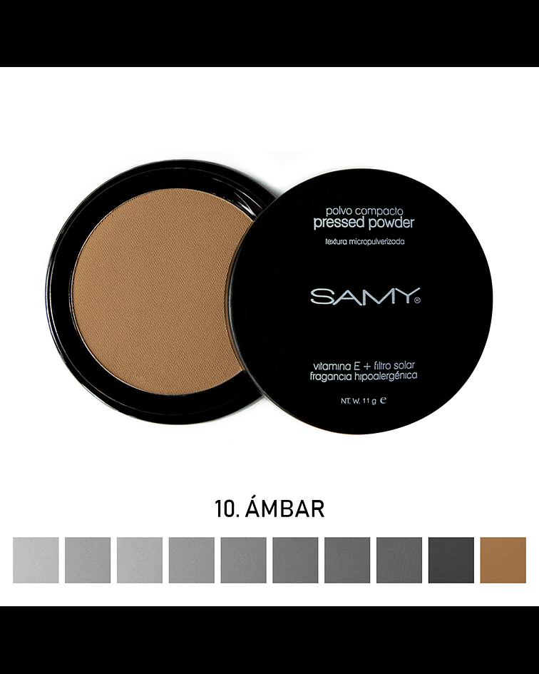 Polvo Compacto Micropulverizado Sin Espejo SAMY 11g