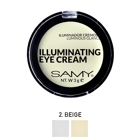 Iluminador Cremoso Luminous Glance SAMY