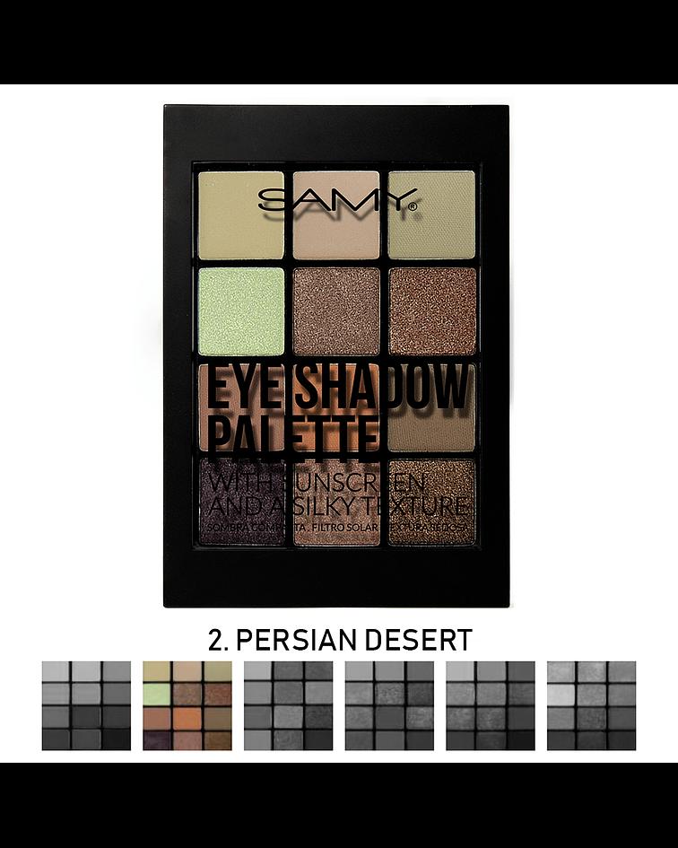 Paleta de Sombras SAMY x12