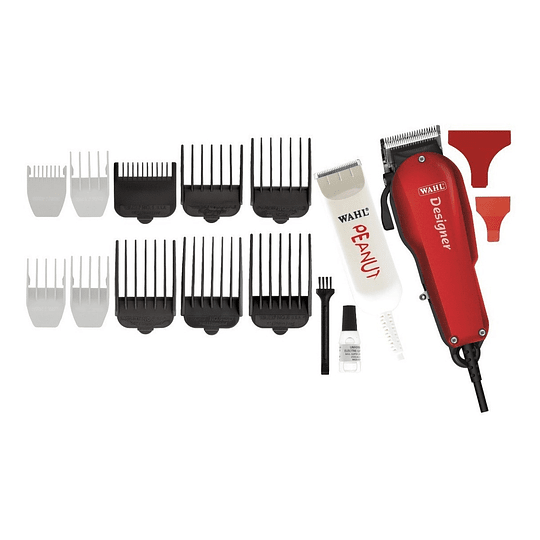 Combo Máquina Barbera y Patillera Profesional WAHL All Star Combo