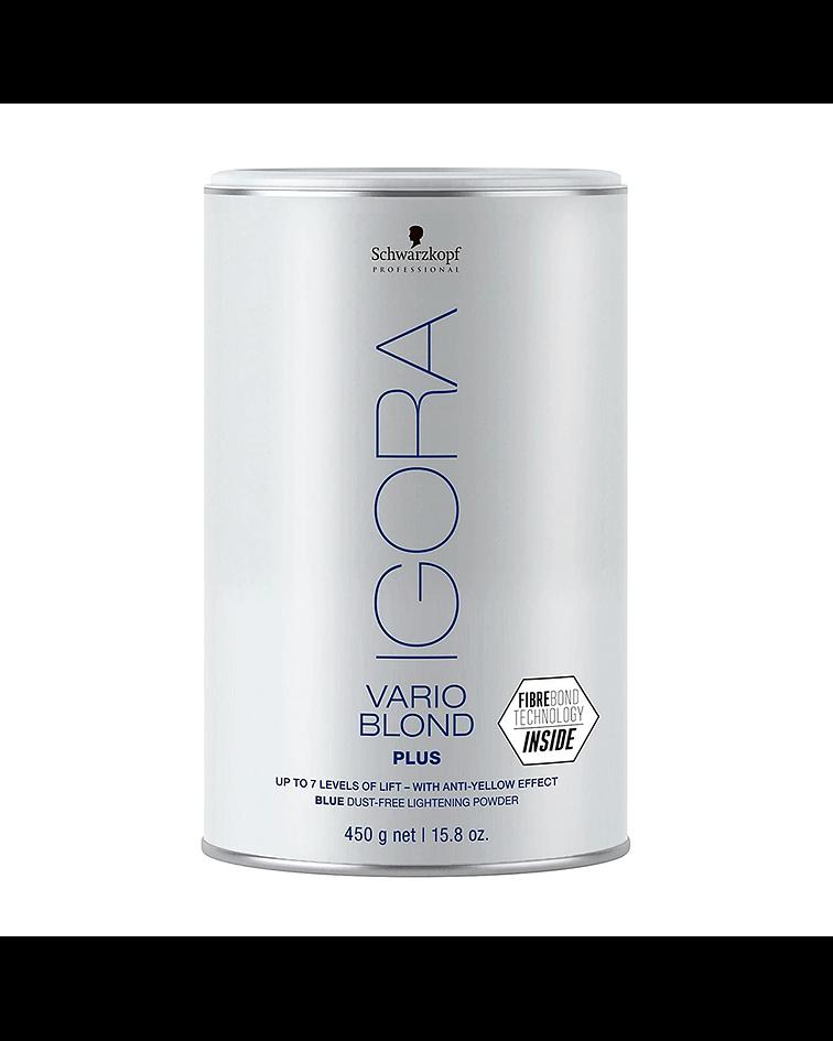 Polvo Decolorante Plus IGORA VARIO BLOND Tarro 450g