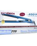 "Plancha Iónica Digital BaBylissPRO Nano Titanium 1 ¼"" Serie 2091 Azul"