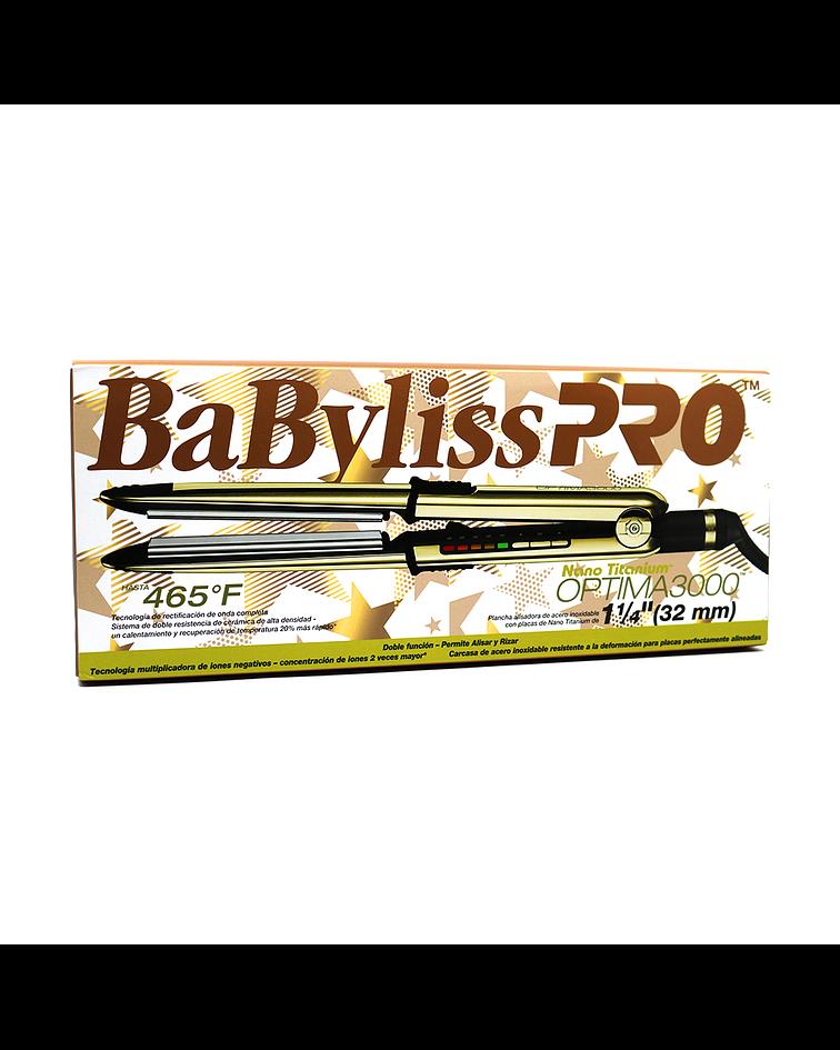 Plancha OPTIMA 3000 Babyliss Pro Nano Titanium XNBABNT3000T Oro Rosa