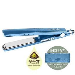 "Plancha Iónica Digital Elegance BaBylissPRO Nano Titanium 1 ¼"" Azul"