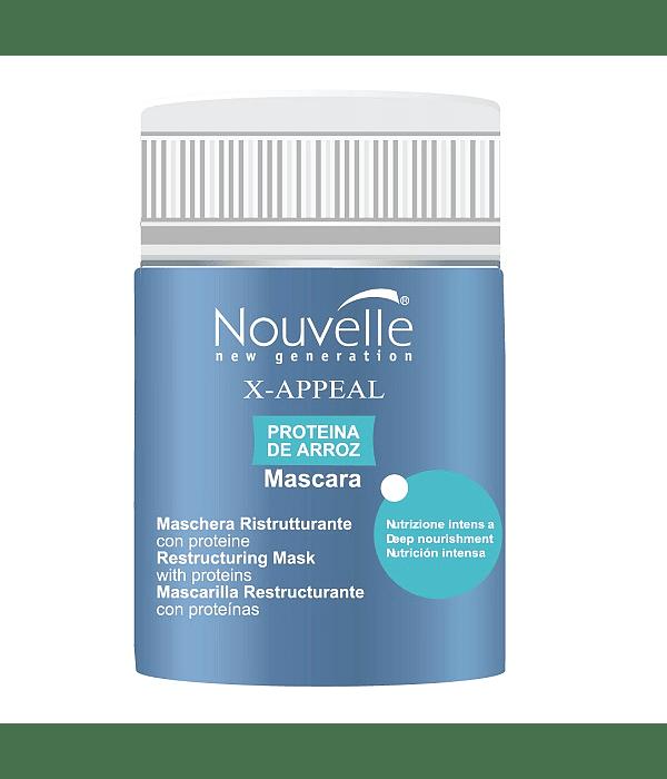 Mascarilla Proteína de Arroz NOUVELLE X-Appeal 50ml