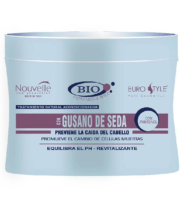 Tratamiento Gusano de Seda NOUVELLE Bio Restructurante 300ml