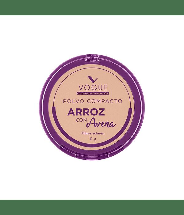 Polvo Vogue de Arroz con Avena