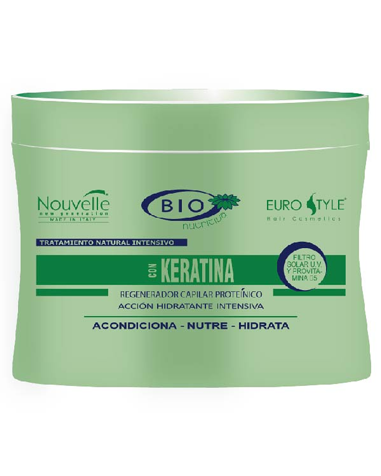 Tratamiento Keratina NOUVELLE Bio Nutritiva 300ml