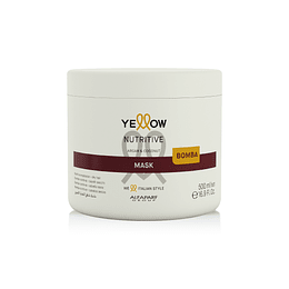 Mascarilla Nutritiva Cabello Seco YELLOW Nutritive 500ml
