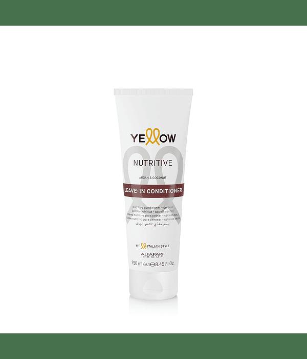 Leave-In Crema Nutritiva para Peinar YELLOW Nutritive 250ml