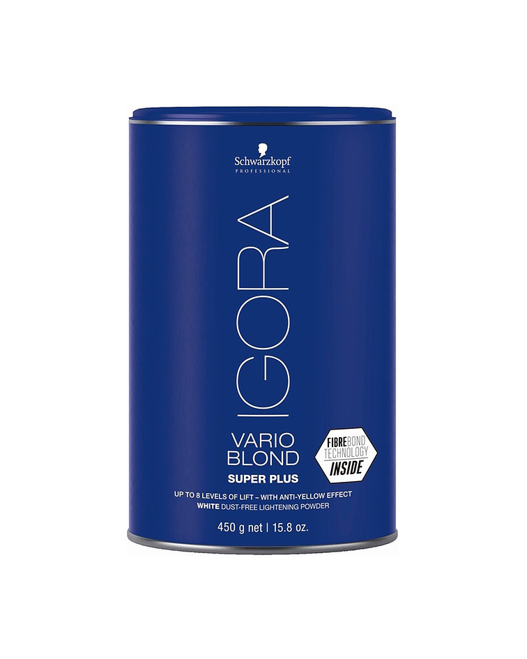 Povo Decolorante Super Plus IGORA VARIO BLOND Tarro 450g