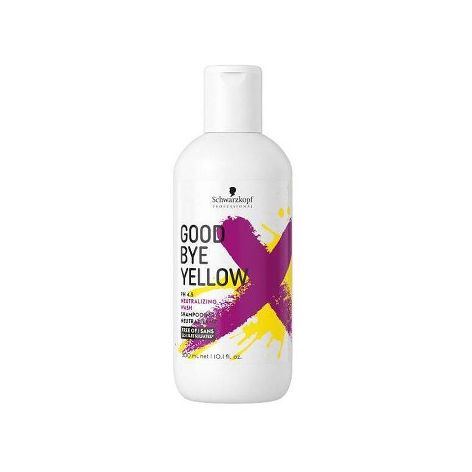 Champú Matizante SCHWARZKOPF Good Bye Yellow 300ml