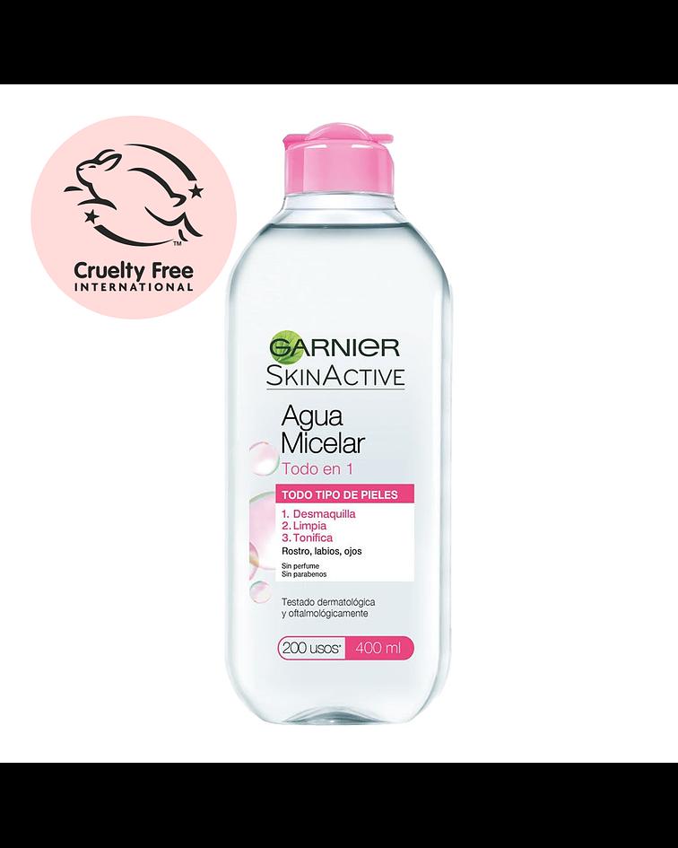 Agua Micelar Clásica GARNIER Skin Active 400ml