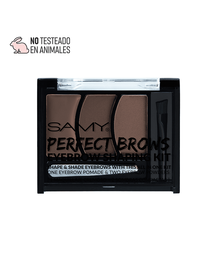 Kit de Maquillaje Cremoso para Cejas SAMY