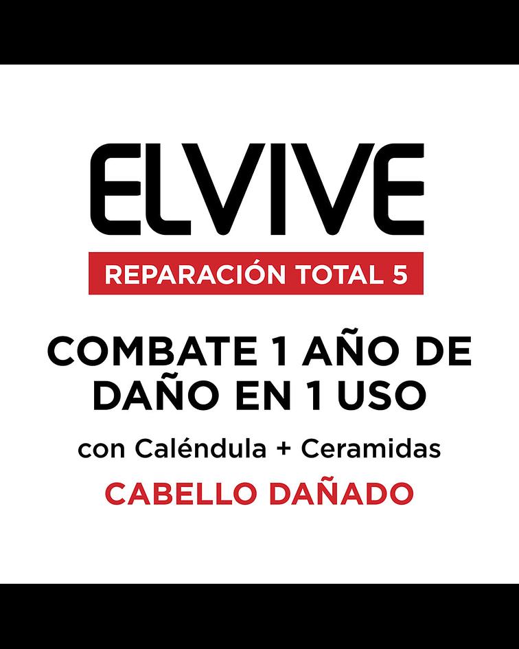 Pack Champú 400ml + Champú 200ml Cica-Repair L'ORÉAL Elvive Reparación Total 5