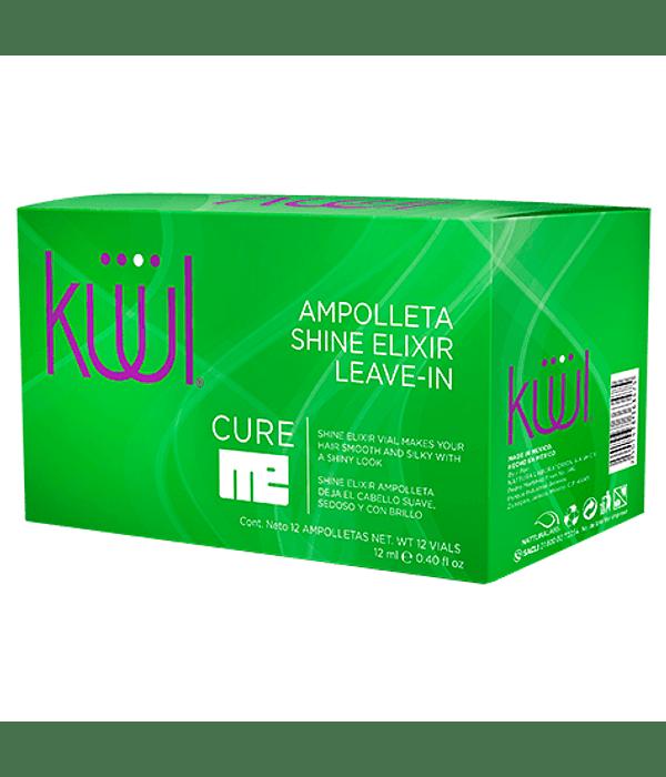 Ampolleta Shine Elixir Leave-In KÜÜL Cure Me 12 unid. x 12ml