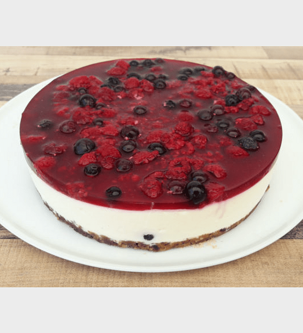 Cheesecake de Berries sin azucar
