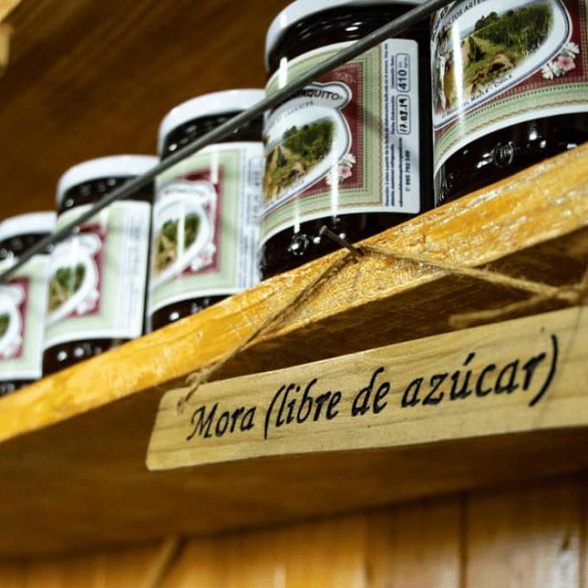 Mermelada de Mora Libre de Azúcar 410 grs