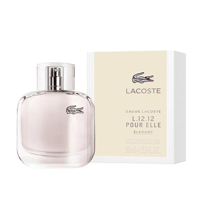 Perfume Lacoste Pour Elle Elegante Mujer Edt 90 ml