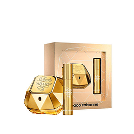 Perfume Lady Million Mujer Edp 50 ml + 15 ml Estuche
