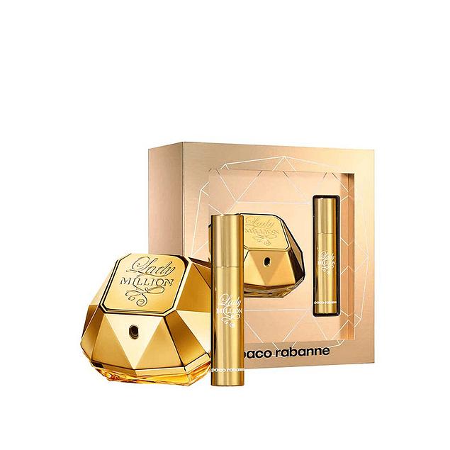 Perfume Lady Million Mujer Edp 50 ml + 15 ml Estuche