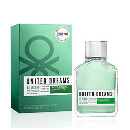 Perfume Benetton United Dreams Be Strong Hombre Edt 200 Ml