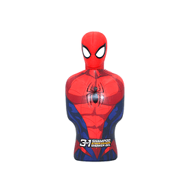 Shampoo 3 En 1 Spiderman 3D Niño 350 Ml