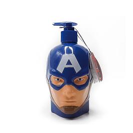 Jabon Liquido Capitan America 3D Niño 400 ml