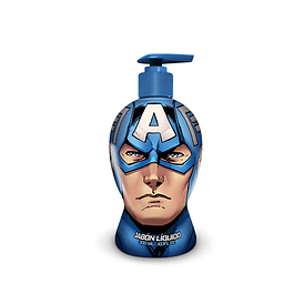 Jabon Liquido Avengers Capitan America Niño 300 Ml