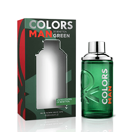Perfume Benetton United Colors Green Hombre Edt 200 ml
