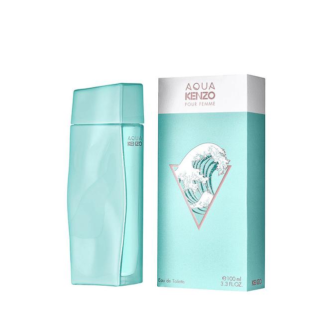 PERFUME AQUA KENZO POUR FEMME MUJER EDT 100 ML