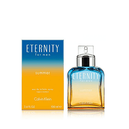 Perfume Eternity Summer Hombre Edt 100 ml