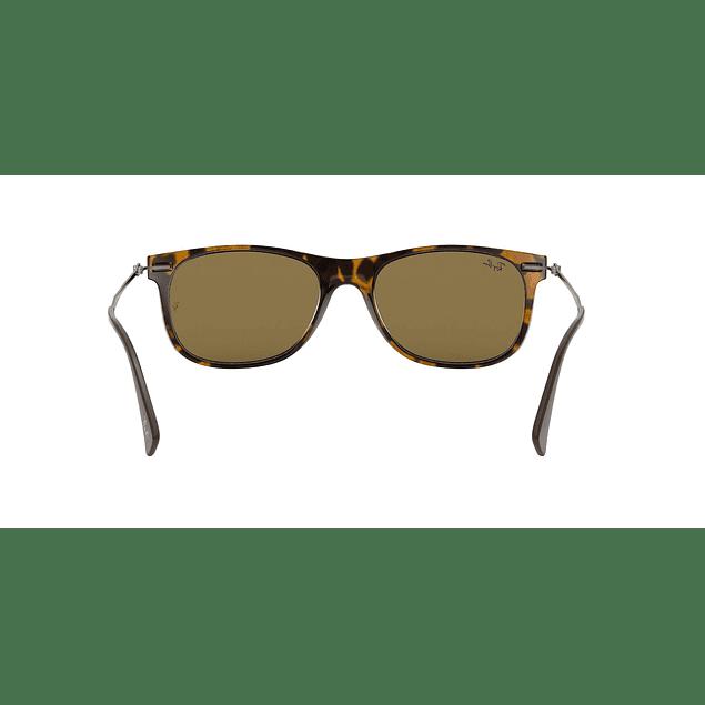 Lente De Sol Inyectado Unisex Ray-Ban 0Rb4318 710/73 55