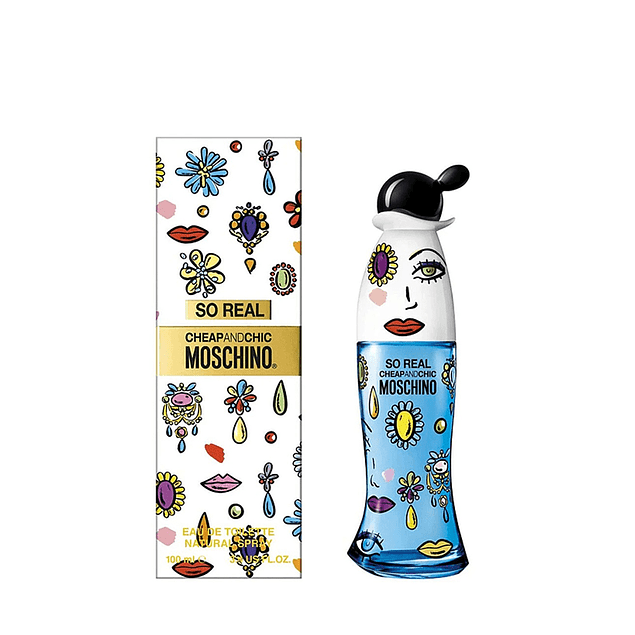 PERFUME SO REAL CHEAP AND CHIC MOSCHINO DAMA EDT 100 ML
