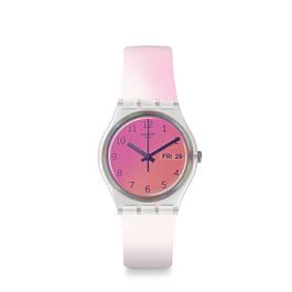 Reloj Swatch Ge719 Unisex Ultrafushia Original