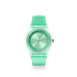 Reloj Swatch Gg225 Mujer Amazo-Night Original