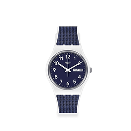 Reloj Swatch Gw715 Mujer Navy Light Original