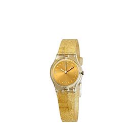 Reloj Swatch Lk382 Unisex Golden Glistar Too Original