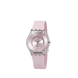 Reloj Swatch Sfe111 Unisex Pink Pastel Skin