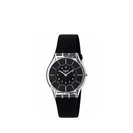 Reloj Swatch Sfk361 Mujer Black Classiness Skin