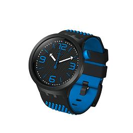 Reloj Swatch So27B101 Unisex Bbblue Original