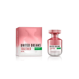 Perfume Benetton United Dreams Together Mujer Edt 80 ml
