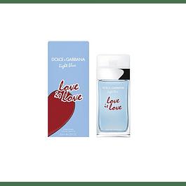 PERFUME LIGHT BLUE LOVE IS LOVE DAMA EDT 100 ML