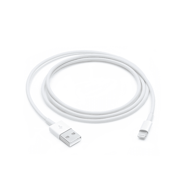 CABLE LIGHTNING A USB APPLE 1.0 MT