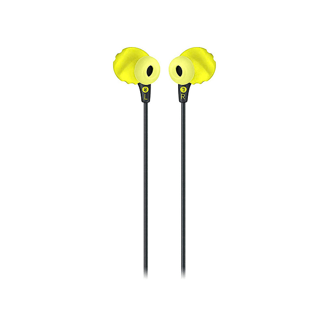 AUDIFONOS DEPORTIVOS IN-EAR JBL ENDURANCE RUN NEGRO/AMARILLO